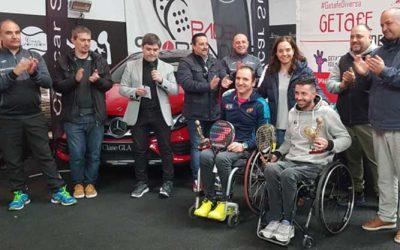 Éxito de participación en el IV Open de Pádel en Silla Villa de Getafe
