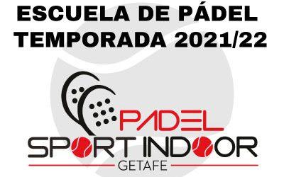 Escuela de Pádel. Temporada 2021/22